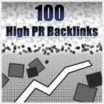100 High PR Backlinks (PR1 to PR5)