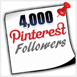 4000 Pinterest Followers