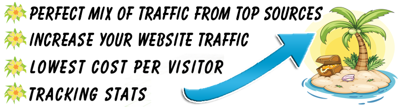 Buy Guaranteed Visitors and Traffic for your website